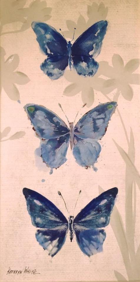 3 butterflys
